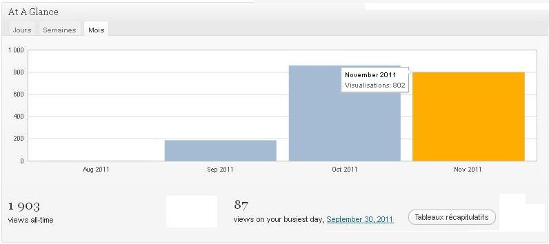 Mon 800 visiteurs mensuels coaching for Fenetre de johari
